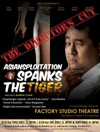 Asiansploitation Spanks The Tiger: The Director's Cut poster