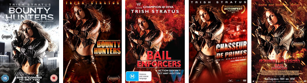 Bounty Hunters worldwide DVD covers