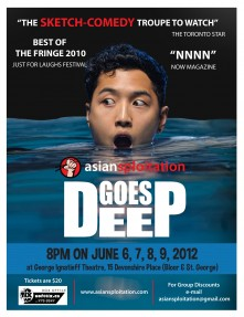 Asiansploitation Goes Deep poster