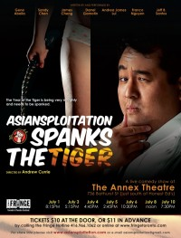 Asiansploitation Spanks The Tiger poster