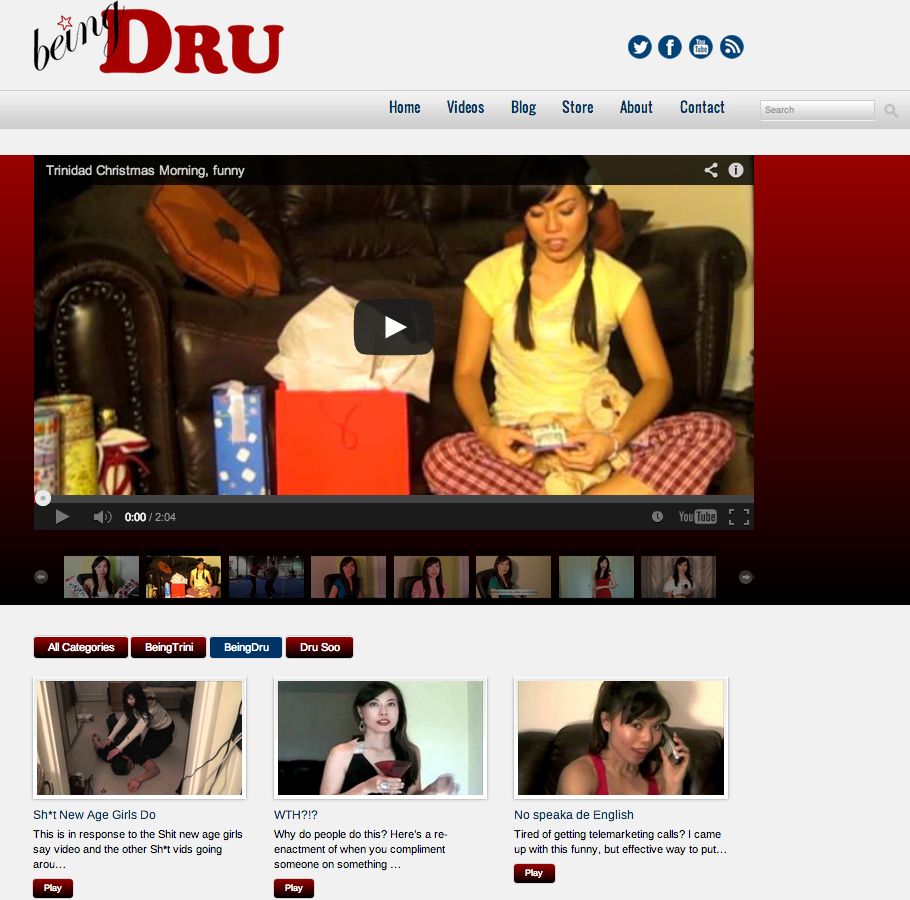 Web Design: Being Dru